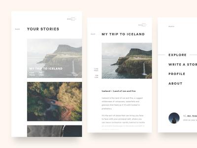 EXPLORY – Story App