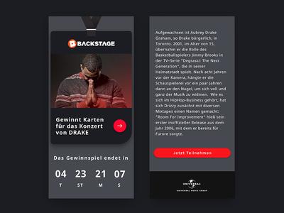 Universal Music Germany – E-Mail Design