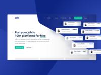 Join – Hiring Platform Landingpage