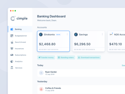 Online Banking – Application