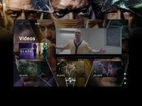 Glass - UI/UX Concept - Videos