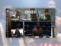 CREED 2 - UI/UX Concept - Videos