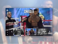 CREED 2 - UI/UX Concept - Gallery