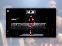 CREED 2 - UI/UX Concept - About