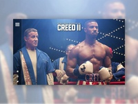 CREED 2 - UI/UX Concept - Home