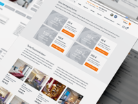 Hotel booking and travel website