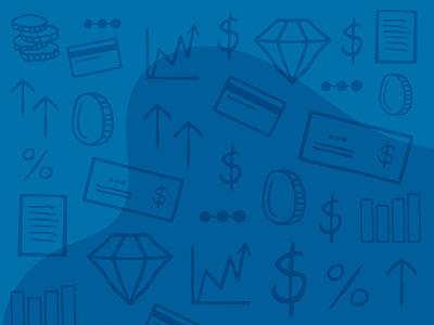 Iconography Background Illustration icon vector design finance iconography flat icon illustration