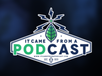 """""""It Came From A Podcast"""" Logo"""