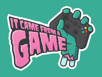 It Came From A Game Logo