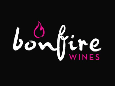 Bonfire Wines Branding