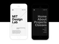 MIT Design Lab Mobile Preview