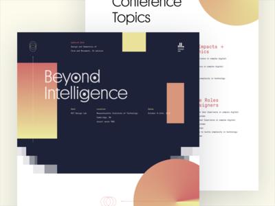 ✨Hiring a Freelancer ✨ MIT Design Lab AI Conference 2019 gt pressura one page website platform ai conference