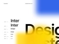 DesignSystems.com Typography