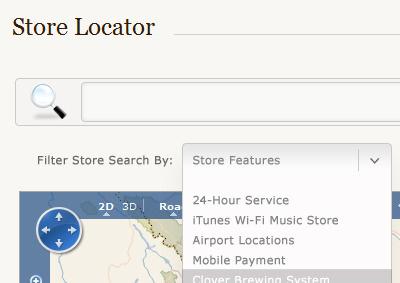 Store Locator redesign store locator bing maps
