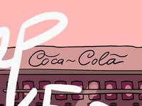 Pink Coca Cola