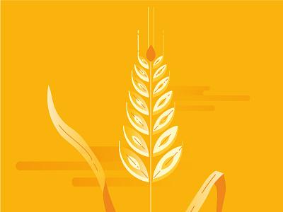 NEWLAT | Mondo Grano 2 farm plant wheat illustration