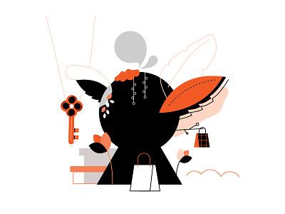 24 Sèvres — illustration 1 nature vector shopping fashion icon design illustration