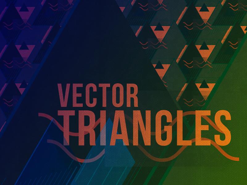 Freebie - Media Militia Vector Triangles