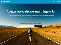 YayPlanner Landing Page