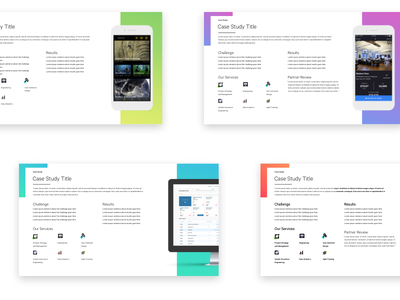 Case Studies template pager one gradient study studies case