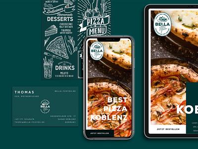 Bella fckyou. Branding, Website & Concept icon typography ux logo branding ui template layout design webdesign