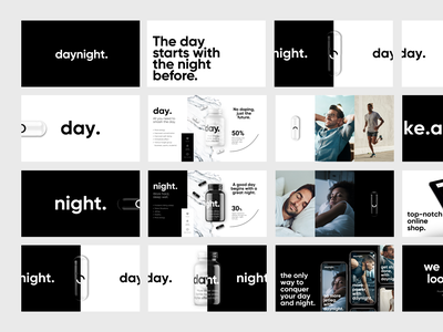 daynight. Presentation branding logo ui template layout design presentation template presentation design presentation
