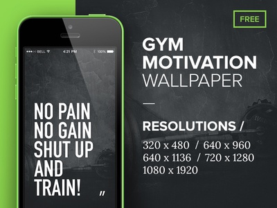 GYM Mobile Wallpaper By Nicolas Kayser