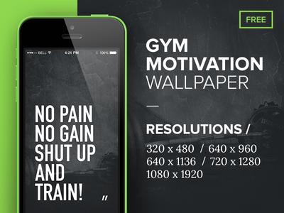 GYM / Mobile Wallpaper