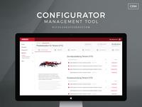 Configurator Tool UI