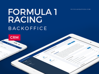 Formula 1 Racing Backoffice