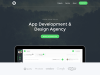 Agency Theme Preview