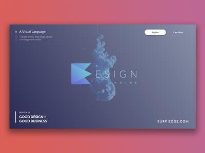 Design Engine Logo showcase