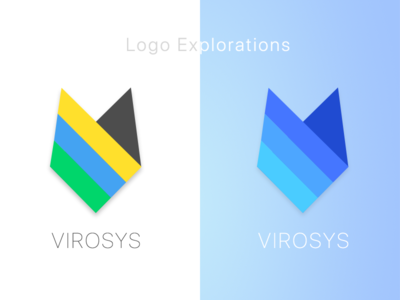 Logo Explorations for VIROSYS