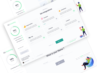 Business Analytic Tool On-boarding user journey sri lanka user chapters analytic tool dashboard userchapters user center design product design daily ui uiux