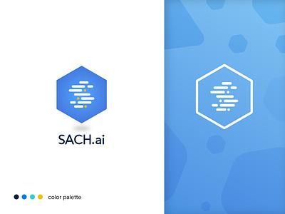 Sach.io ( Medical Analytic Tool ) brand identity product design uiux data analytics medical logo design branding design