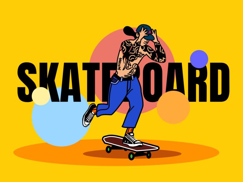 Skateboard Boy skateboard 插图