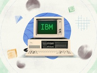 ibm retro pc