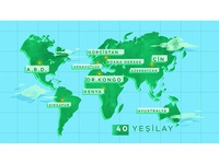 yesilay world map