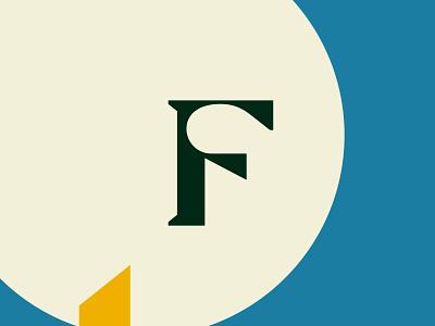 F letter design artwork design graphic typeface geometric design geometry modern serif black f typography art typographic typography