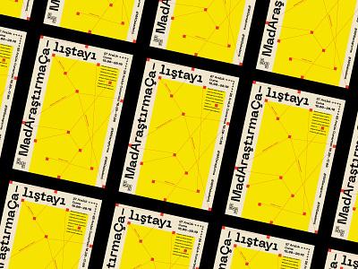 Mad Poster v.01 graphic design poster art vector type artwork basic illustrator geometric print typography design graphic poster design poster