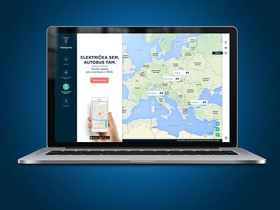 TRANSDATA - web / concept app mobile wezeo simple apple iwatch blue ux ui web