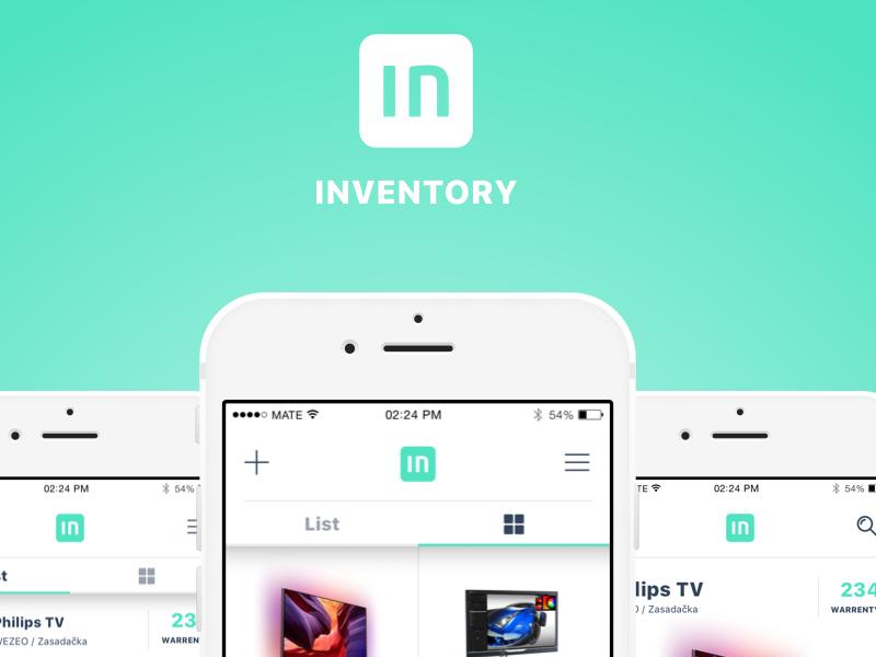 INVENTORY - mobile app by mateklemp | Dribbble | Dribbble