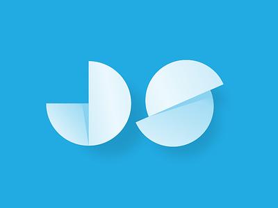 JS.responsive dailyux concept framework javascript blue software responsive logo construction brand