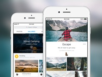 Galleries for iOS
