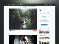 500px Logged-in Home