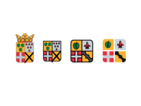 Simplifying a municipal coat of arms