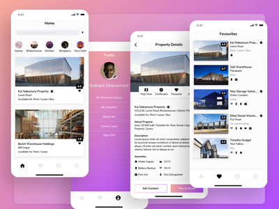Warehousing App Design apple frosted frosting gradient application app design agency prototyping research user experience user interface uiux ux ui sketch app sketch project design case study app