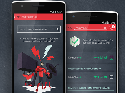 Websupport android polygonal icons noise webhosting hosting domain app android websupport