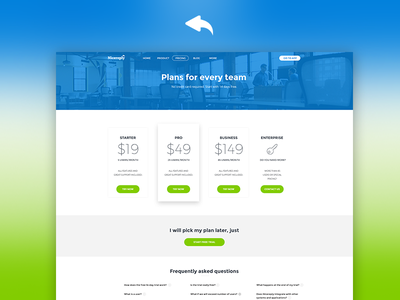Nicereply Homepage flat green blue brand new redesign homepage nicereply