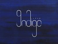 Indigo Love - Concept Type Design